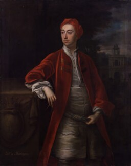Richard Boyle, 3rd Earl of Burlington and 4th Earl of Cork, by Jonathan Richardson - NPG 4818