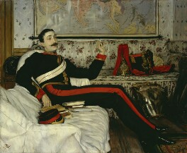 Frederick Burnaby, by James Jacques Tissot - NPG 2642