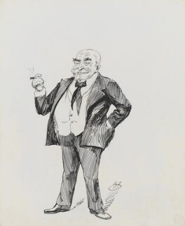 Frank Burnand, by Harry Furniss - NPG 3429