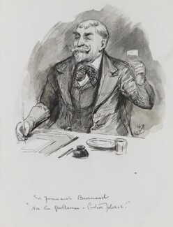 Frank Burnand, by Harry Furniss, 1880s-1900s - NPG 3430 - © National Portrait Gallery, London