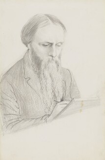 Sir Edward Burne-Jones, by George James Howard, 9th Earl of Carlisle - NPG 5276