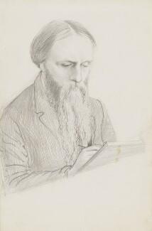 Sir Edward Coley Burne-Jones, 1st Bt, by George James Howard, 9th Earl of Carlisle, circa 1875 -NPG 5276 - © National Portrait Gallery, London