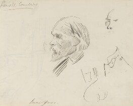 Sir Edward Coley Burne-Jones, 1st Bt, by Sydney Prior Hall - NPG 2287