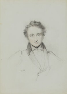 Sir Alexander Burnes, by William Brockedon - NPG 2515(20)