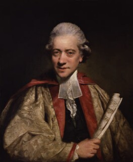 Charles Burney, by Sir Joshua Reynolds - NPG 3884