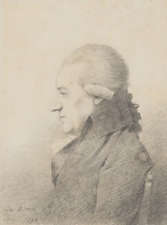 Charles Burney, by George Dance - NPG 1140