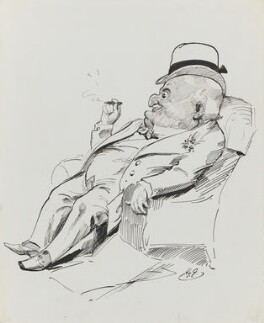 Edward Levy-Lawson, 1st Baron Burnham, by Harry Furniss - NPG 3433