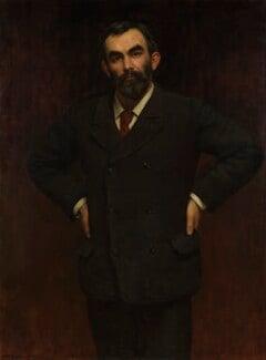 John Elliott Burns, by John Collier - NPG 3170