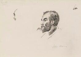 John Elliott Burns, by Sydney Prior Hall, 1888-1889 - NPG 2290 - © National Portrait Gallery, London