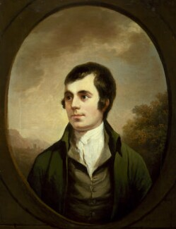 Robert Burns, by Alexander Nasmyth - NPG 46