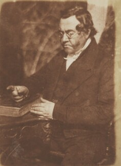 William Hamilton Burns, by David Octavius Hill, and  Robert Adamson - NPG P6(86)