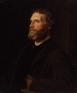 Sir Frederic William Burton, by Henry Tanworth Wells, 1863 - NPG 1701 - © National Portrait Gallery, London