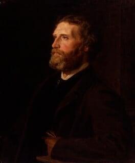 Sir Frederic William Burton, by Henry Tanworth Wells, 1863 - NPG 1701 - © National Portrait Gallery, London