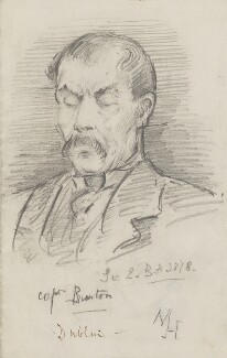 Sir Richard Francis Burton, by Marian Collier (née Huxley), 1878 -NPG 3148 - © National Portrait Gallery, London