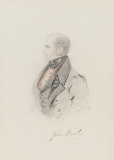 John Bushe, by Alfred, Count D'Orsay - NPG 4026(7)