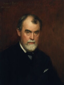 Samuel Butler, by Charles Gogin - NPG 1599