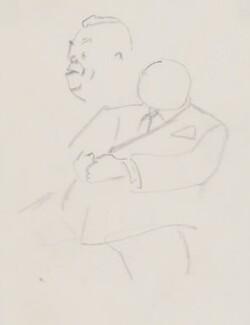 Billy Butlin, by Sir David Low - NPG 4529(68)