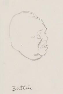 Billy Butlin, by Sir David Low - NPG 4529(70)