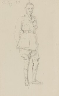 Julian Byng, 1st Viscount Byng of Vimy, by John Singer Sargent, circa 1922 - NPG 2908(5) - © National Portrait Gallery, London