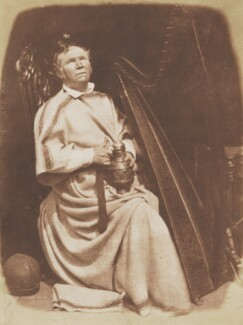 Irish Harper (Patrick Byrne), by David Octavius Hill, and  Robert Adamson - NPG P6(146)