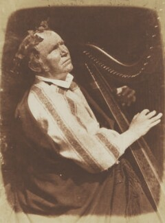 Irish Harper (Patrick Byrne), by David Octavius Hill, and  Robert Adamson - NPG P6(150)