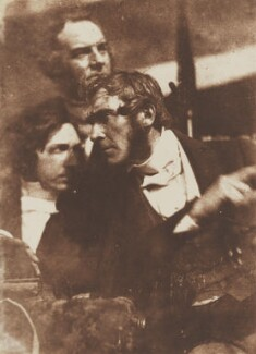Graham Fyvie, Robert Cadell and Robert Cunningham Graham Spiers, by David Octavius Hill, and  Robert Adamson - NPG P6(139)