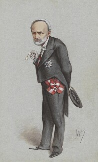 Chevalier Carlo Cadorna, by Carlo Pellegrini - NPG 4635