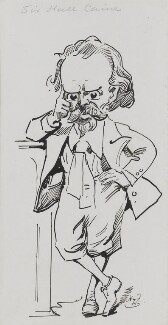 Sir (Thomas Henry) Hall Caine, by Harry Furniss - NPG 3435