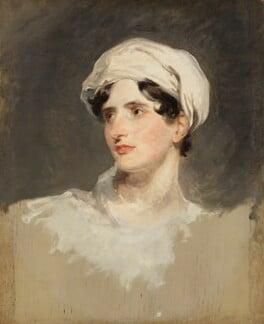 Maria, Lady Callcott, by Sir Thomas Lawrence, 1819 - NPG 954 - © National Portrait Gallery, London