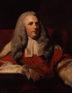 Charles Pratt, 1st Earl Camden, after Sir Joshua Reynolds, based on a work of 1765-1766 - NPG 459 - © National Portrait Gallery, London