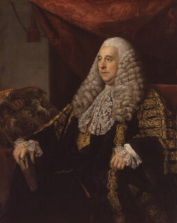 Charles Pratt, 1st Earl Camden, by Nathaniel Dance (later Sir Nathaniel Holland, Bt) - NPG 336