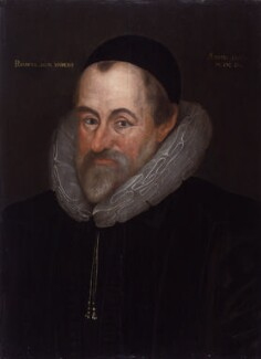 William Camden, by or after Marcus Gheeraerts the Younger - NPG 528