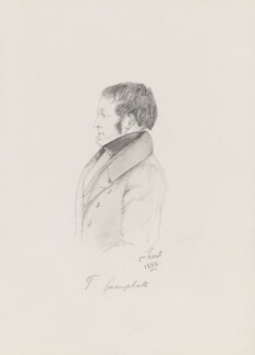 Thomas Campbell, by Alfred, Count D'Orsay - NPG 4026(10)