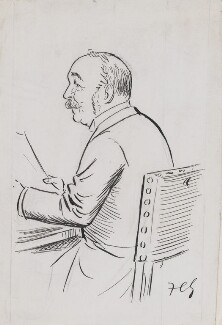Sir Henry Campbell-Bannerman, by Sir Francis Carruthers Gould ('F.C.G.') - NPG 2830
