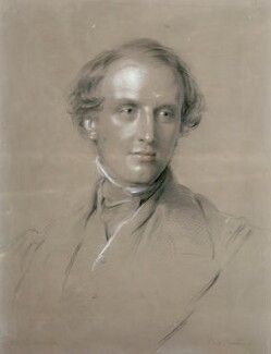 Charles John Canning, Earl Canning, by George Richmond - NPG 1057