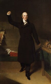 George Canning, by Sir Thomas Lawrence - NPG 1832