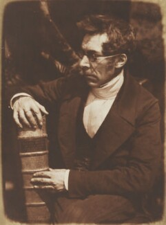 Abraham Capadose, by David Octavius Hill, and  Robert Adamson - NPG P6(26)