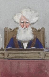 Sir Robert Walter Carden, 1st Bt, by Sir Leslie Ward - NPG 2568