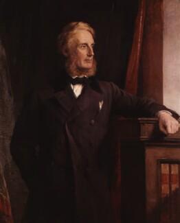 Edward Cardwell, Viscount Cardwell, by George Richmond, 1871 - NPG 767 - © National Portrait Gallery, London