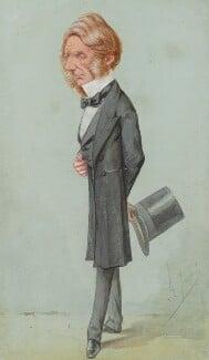 Edward Cardwell, Viscount Cardwell, by Carlo Pellegrini - NPG 2569