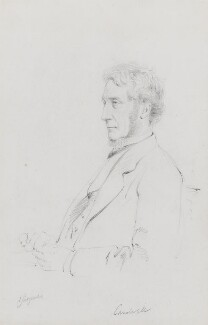 Edward Cardwell, Viscount Cardwell, by Frederick Sargent - NPG 1834(e)