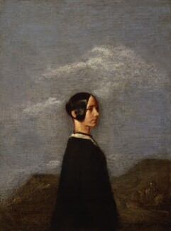 Jane Baillie Carlyle (née Welsh), by Samuel Laurence - NPG 1175