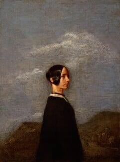 Jane Baillie Carlyle (née Welsh), by Samuel Laurence - NPG 1175