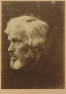 Thomas Carlyle, by Julia Margaret Cameron, 1867 - NPG P123 - © National Portrait Gallery, London