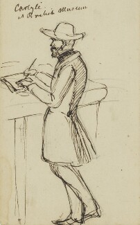 Thomas Carlyle, by Edward Matthew Ward - NPG 2894