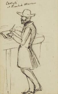 Thomas Carlyle, by Edward Matthew Ward,  - NPG 2894 - © National Portrait Gallery, London