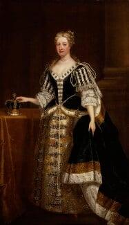 Caroline Wilhelmina of Brandenburg-Ansbach, studio of Charles Jervas, 1727 - NPG 369 - © National Portrait Gallery, London