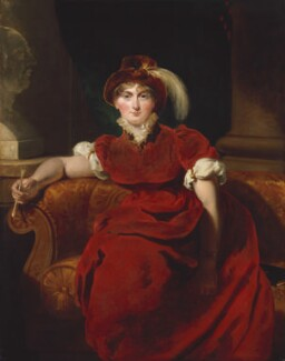 Caroline Amelia Elizabeth of Brunswick, by Sir Thomas Lawrence - NPG 244