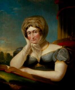 Caroline Amelia Elizabeth of Brunswick, by James Lonsdale, circa 1820 - NPG 498 - © National Portrait Gallery, London