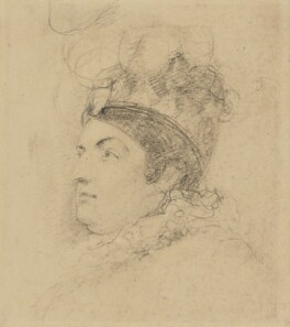 Caroline Amelia Elizabeth of Brunswick, by Sir George Hayter - NPG 1695(b)